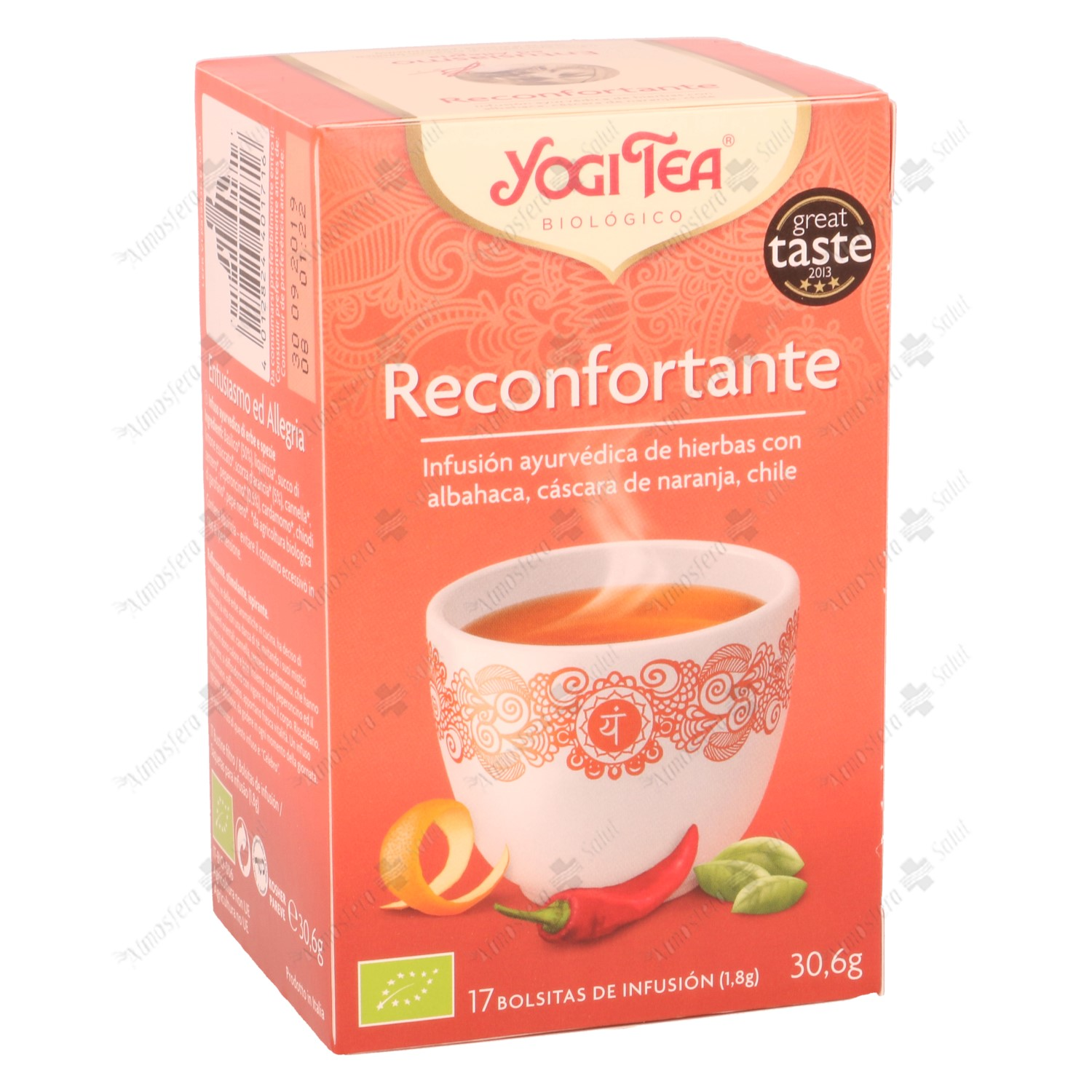YOGI TEA RECONFORTANTE 17 B. 30,6 GR