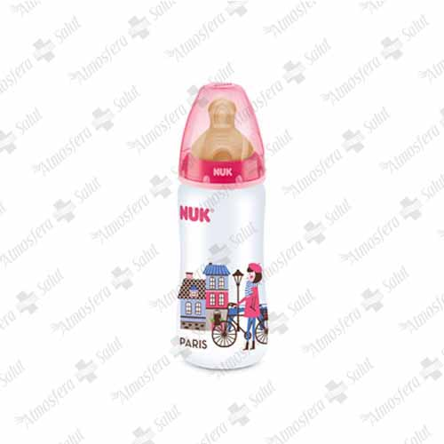 NUK BIBERON FC + PP LATEX TRAVEL 1 M 300 ML- 167823 -  ROCHE D