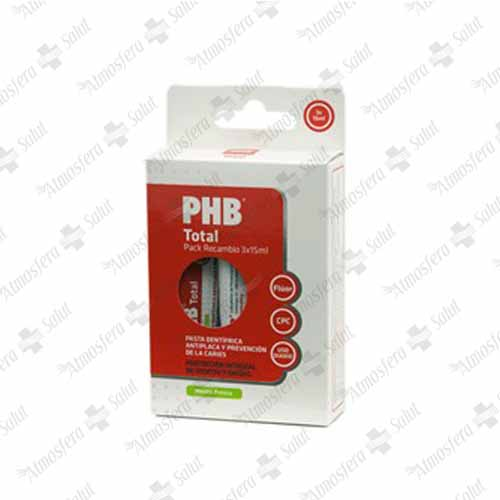 PHB TOTAL PACK RECAMBIO 3X15  45 ML- 351742 -  PHB