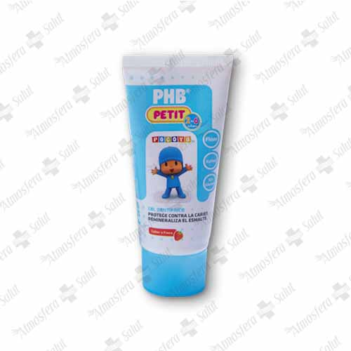 PHB PETIT GEL DENTAL POCOYO  INFANTIL  50 ML- 398024 -  PHB